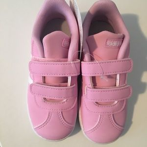 Adidas VL Court Pink Toddler 9K